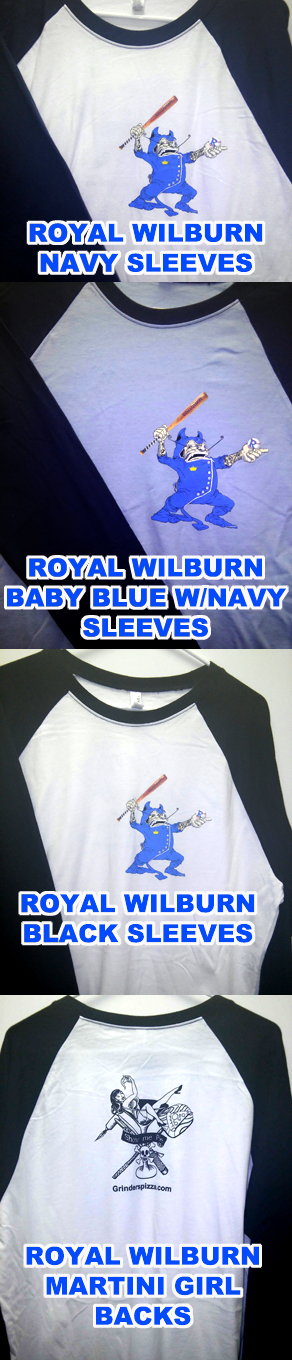 *NEW* Royal Wilburn Jerseys!!