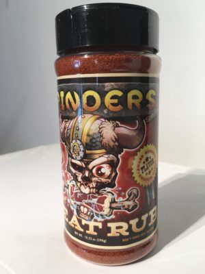 "GRINDERS AWARD WINNING     Meat RUB      ***    ""A Treat for Your Meat""    ***"