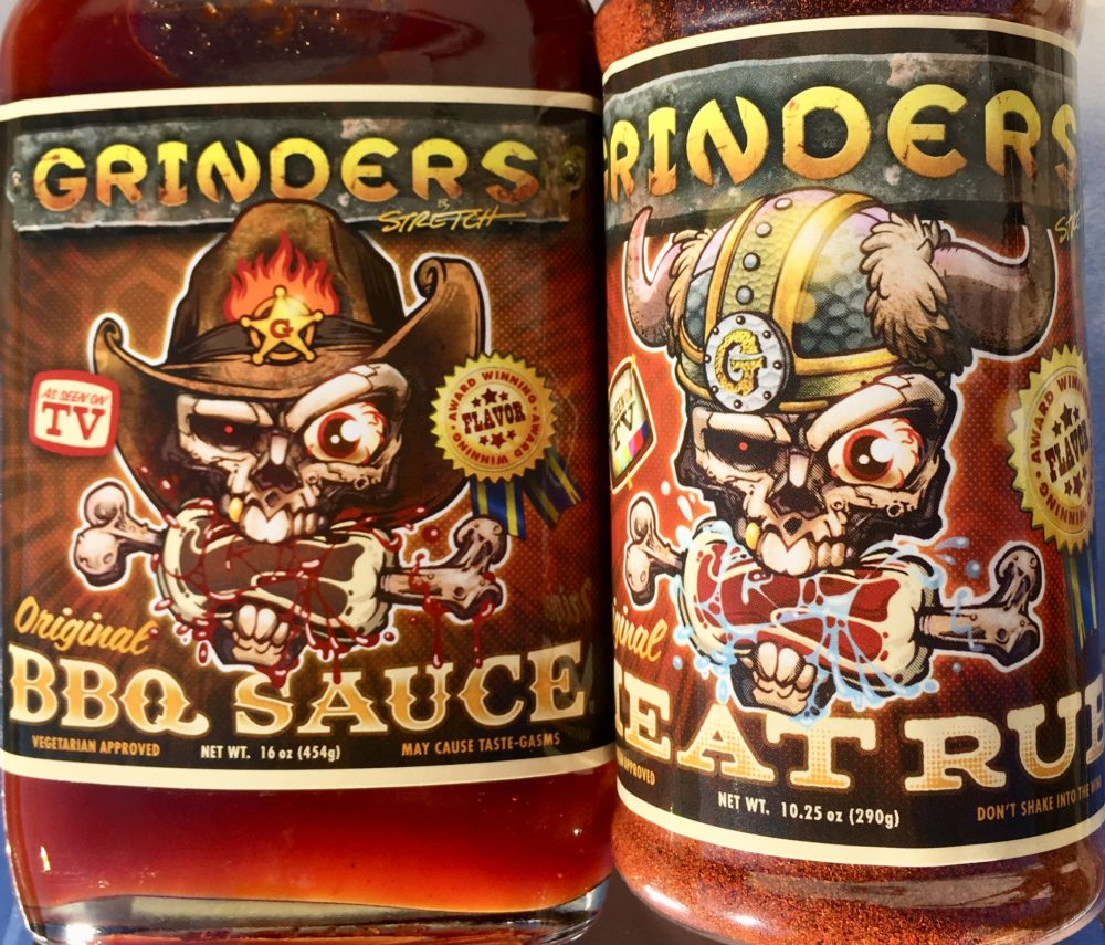 "Grinders BBQ COMBO — Sauce + Meat RUB –  It's a ""2 fer' DEAL"""