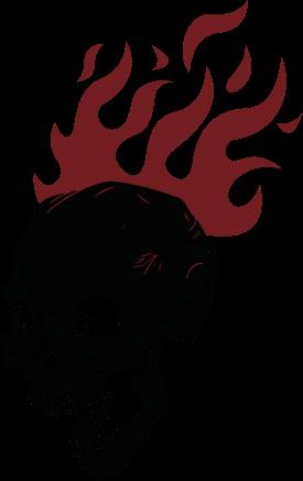 Flamey Skull Dude