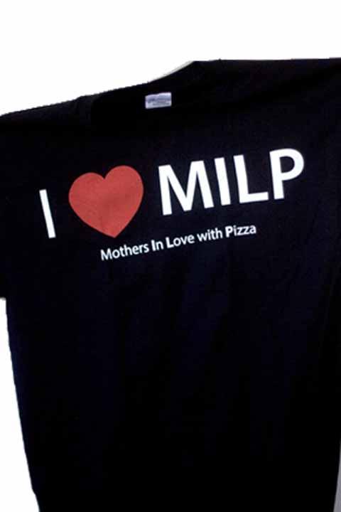 Grinders I (heart) MILP T-shirt