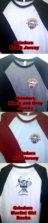 Grinders Jerseys
