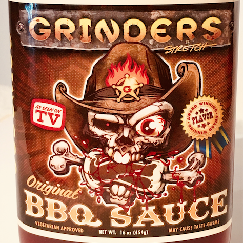 BBQ Sauce Flask & Meat RUB – Grinders Original – A $17 – 2 fer' DEAL